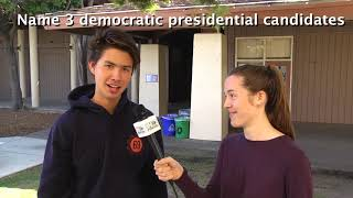 Pop Quiz: Democratic Candidates