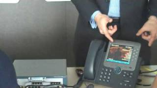 Cisco CallManager Express Phone Feature Demo