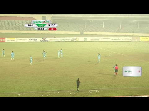 BPL Football 2017 : LIVE ON || MATCH # 122 || DHAKA ABAHANI vs. SHEIKH JAMAL DHANMONDI