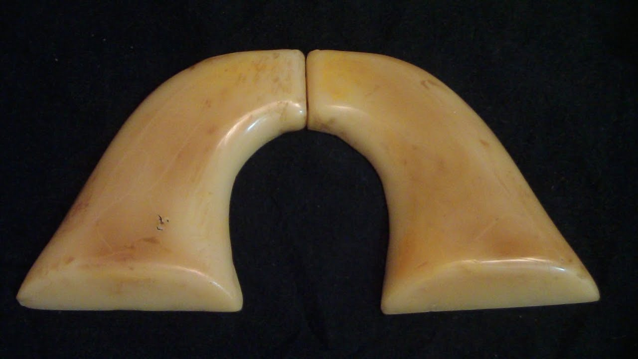 Custom old ivory grips