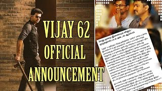 Actor Vijay vijay 61 First Look And Vijay 62 Biggest update   Ilayathalapathy   A.R Murugadoss  Lyca
