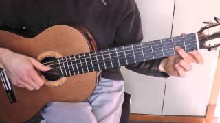 Cours de guitare - Titine (Les Temps Modernes / Modern Times) (1/3) Démo + Thème cadentiel + Pont