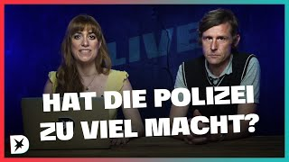 Live-Analyse: Hat die Polizei zu viel Macht? | DISKUTHEK