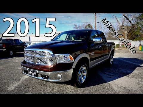 2015 Ram 1500 Laramie / Western Brown - Ultimate In-Depth Look