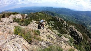Rocher du Midi en fat bike Salamandre