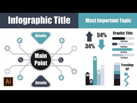 Infographic Tutorial infographic tutorial illustrator logo tutorial : Illustrator Tutorial Flat Infographic
