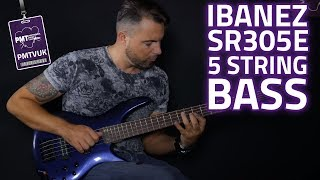 Ibanez SR305 EB 5 String Bass Demo - A Cheap 5 String Bass That Doesn't Suck!