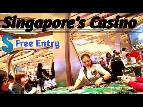 Biggest Casino of Singapore || Free Entry || Casino || Marina Bay Sands Casino || Sentosa Casino