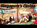 Casino Marina bay sands Singapore (roulette game) - YouTube