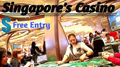 Biggest Casino of Singapore || Free Entry || Casino || Marina Bay Sands Casino || Sentosa Casino