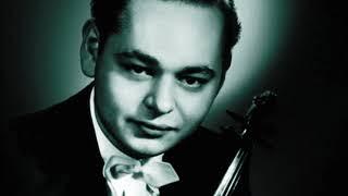 Michael Rabin Bach violin sonata #3 fuga alla breve bwv 1005