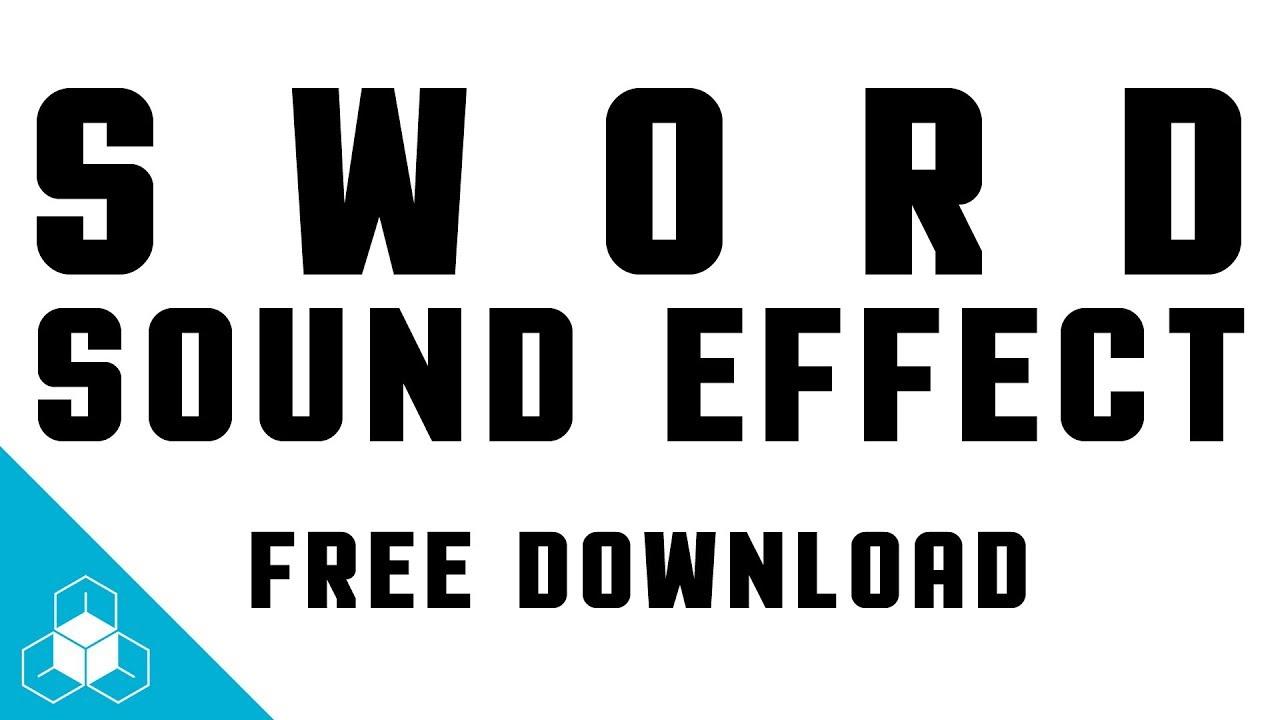 Sword slash sound effect free download hd youtube.