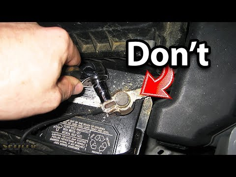 Doing This Will Destroy Your Car Battery