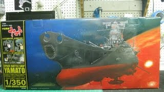 Space Battleship Yamato Pt 7, Some Trek And Other Cool Stuff On The Bench