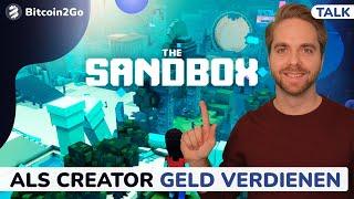 The Sandbox - So kann man als Creator Geld verdienen