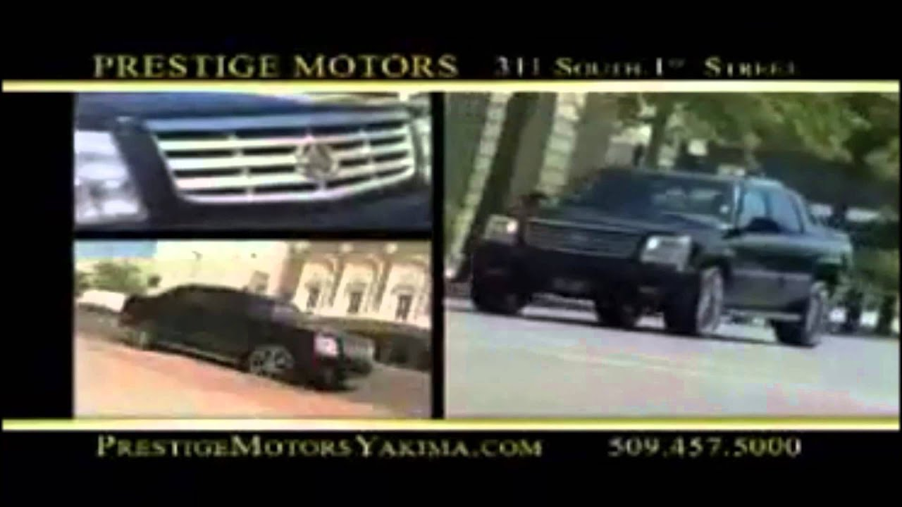 Prestige motors yakima commercials youtube for Prestige motors yakima wa