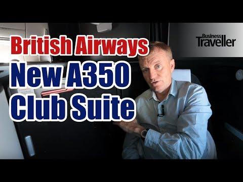 British Airways New A350 Club Suite (Club World) - Business Traveller