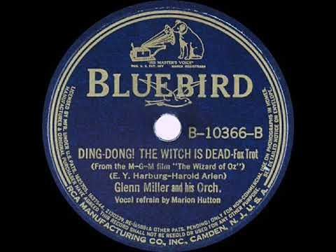 1939 Glenn Miller - Ding-Dong! The Witch Is Dead (Marion Hutton, vocal)