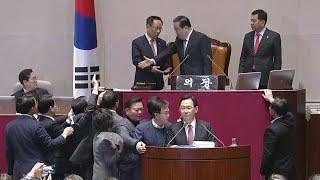 [현장영상] 한국당, 국회의장 필리버스터 거부에 강력 항의 / YTN
