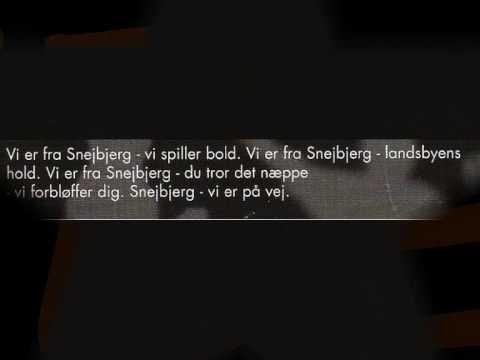 Jelly Highlights -- Snejbjerg Sangen (M/ tekst)