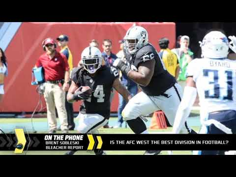The AFC West is the best division in football