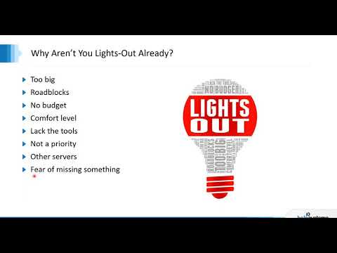 Lights Out Automation For Ibm I Data