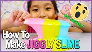 How To Make Jiggly Slime Easy