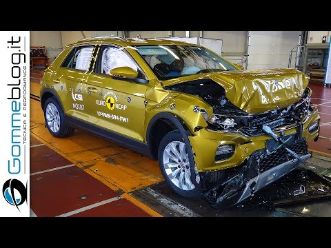 Volkswagen T-Roc CRASH TEST Euro Ncap 2017   ★★★★★