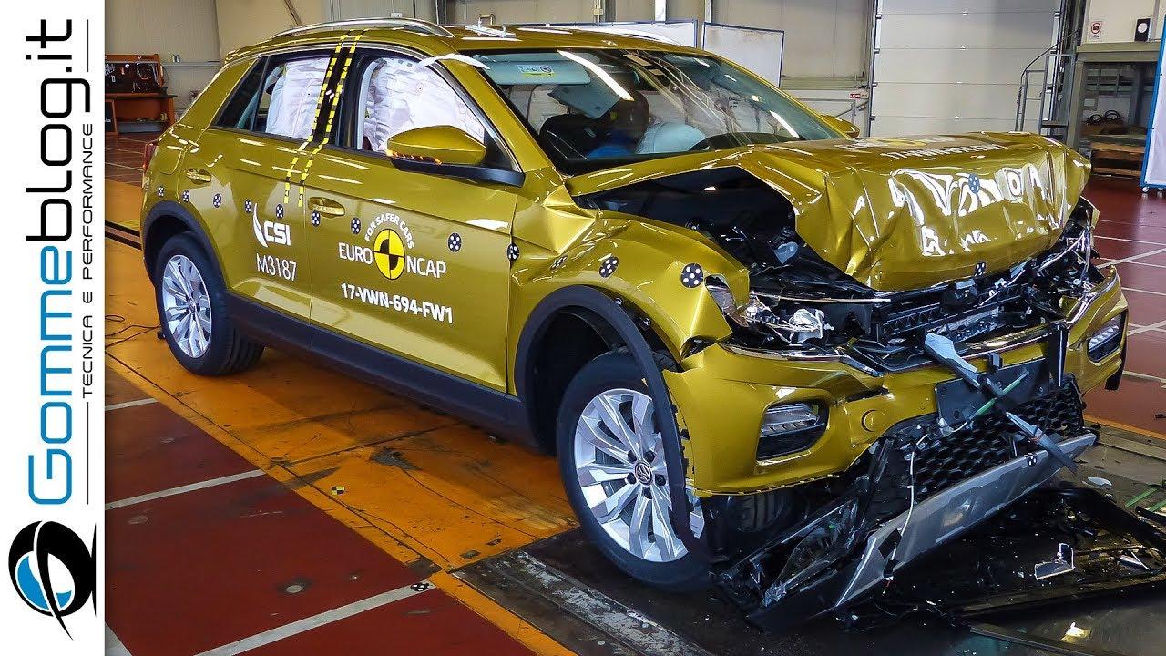 Volkswagen T-Roc CRASH TEST Euro Ncap 2017 | ★★★★★