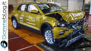 Volkswagen T-Roc CRASH TEST Euro Ncap 2017 | ★★★★★