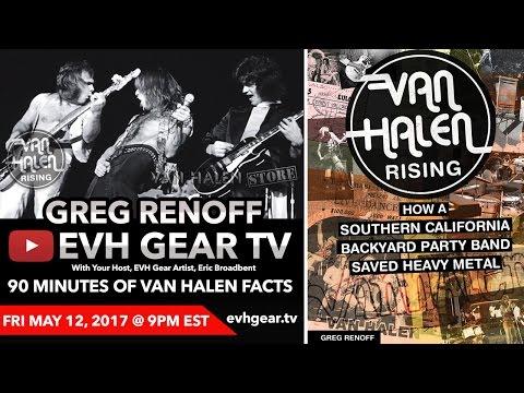 EVH Gear TV With Van Halen Rising Author Greg Renoff