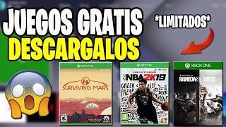 DESCARGALOS RAPIDO 🔥 3 JUEGOS GRATIS POR TIEMPO LIMITADO ! XBOX ONE NOVIEMBRE 2018