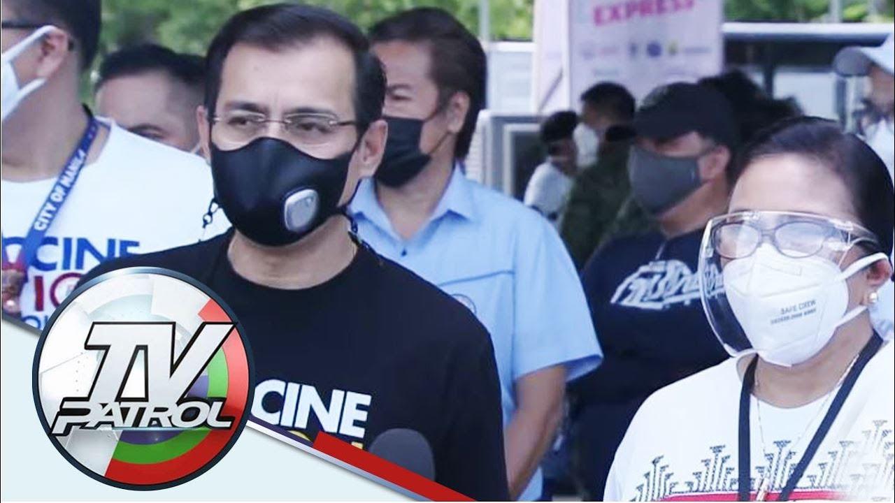 Isko, Leni 'nag-tandem' sa vaccination drive; plano sa 2022 inusisa   TV Patrol