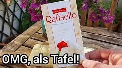 Raffaello Tafel Schokolade von Ferrero   Ganz was exklusives!   FoodLoaf