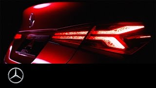 Concept A Sedan Design – Design Teaser – Mercedes Benz original
