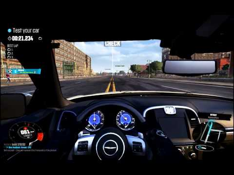 The Crew Beta - All Cars Test (simulation, hardcore mode)