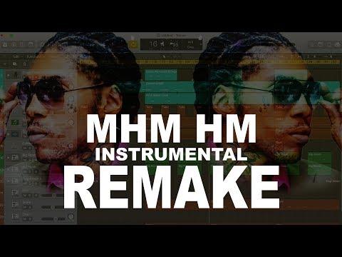 Vybz Kartel -  Mhm hm  Instrumental remake (September 2017) [Free Download]