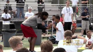 Larry Fitzgerald Gets Back to Football