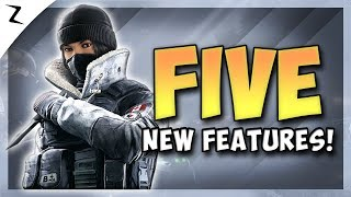 5 New Features! Operation Phantom Sight! - Rainbow Six Siege