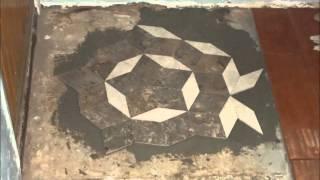 Penrose Tiling on a concrete floor