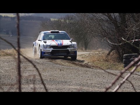 Škoda Motorsport - test před Valašskou rally