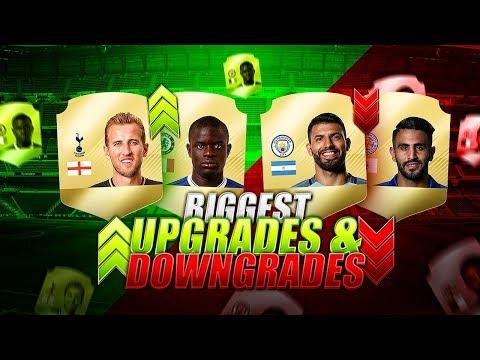 FIFA 18 BIGGEST PREMIER LEAGUE UPGRADES (RATINGS) w/ KANE - HAZARD - KANTE - DELE ALLI & MORE