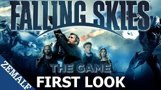 Falling Skies Gameplay | First Look | Game by Little Orbit (XBox 360, PS3 & PC)