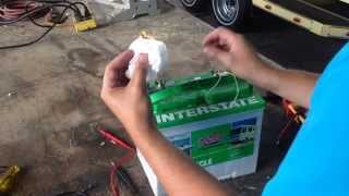 Can a 12v battery shock you fail