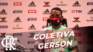 Coletiva de imprensa ao vivo - Gerson