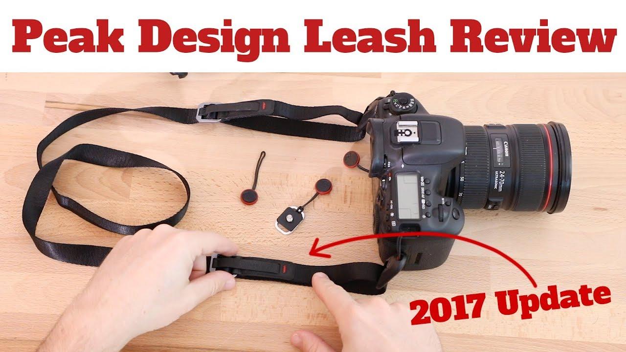 Peak Design Leash Black Kameragurt Neuware vom Fachhändler