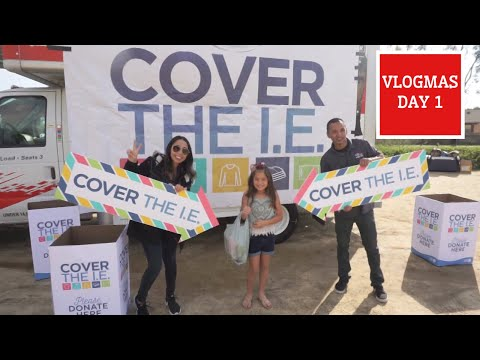 COVER THE I.E with 99.1 KGGI | THE BROZZY FAM VLOGMAS DAY 1
