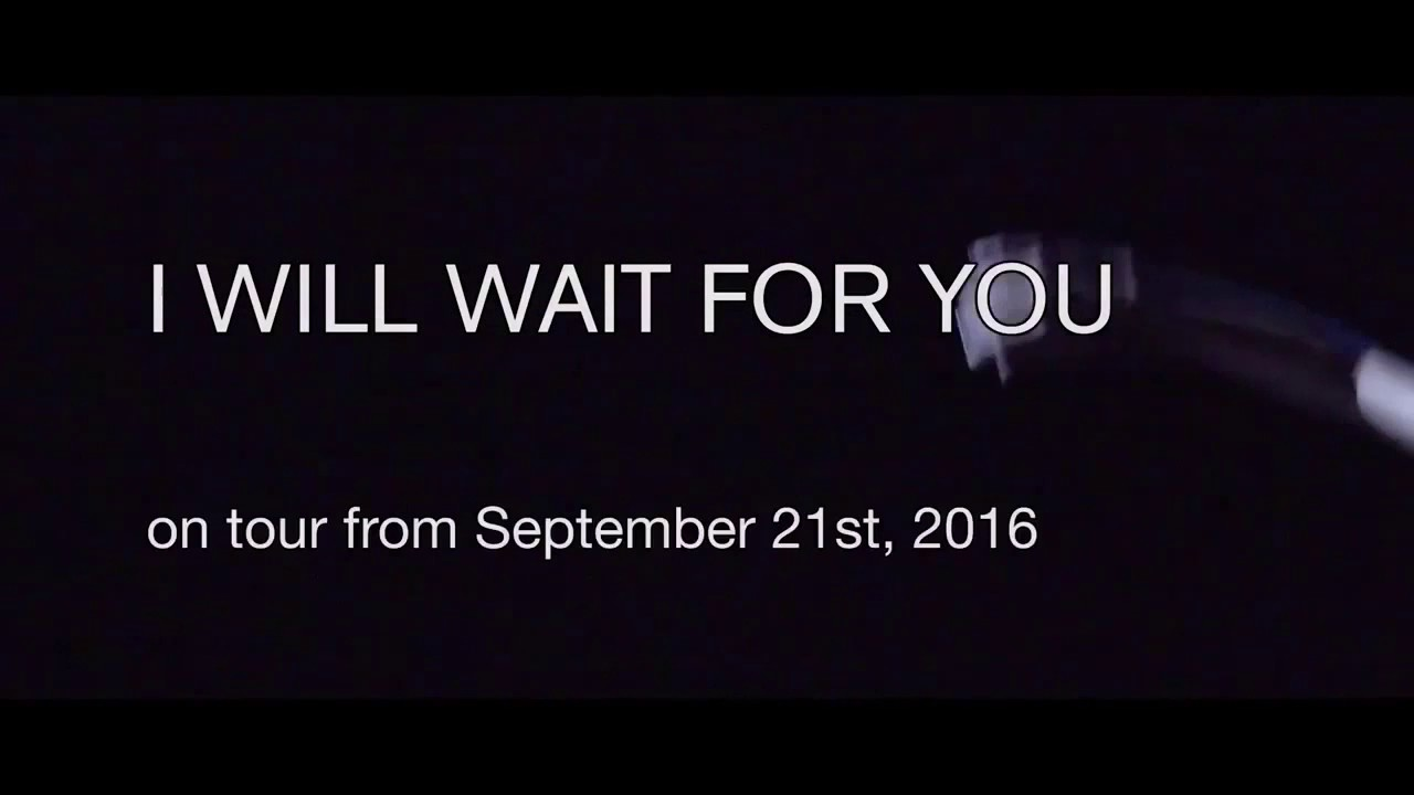 Arno Schuitemaker I Will Wait For You Youtube