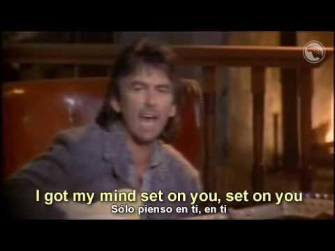 George Harrison - Got My Mind Set on You - Subtitulado Español & Inglés