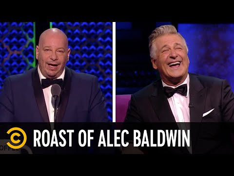 Jeff Ross Trashes Alec Baldwin's Filmography - Roast of Alec